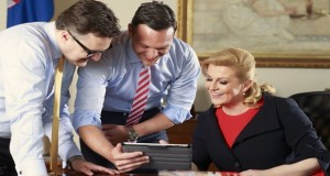 Predsjednica i suradnici