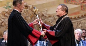 Sveèana inauguracija novog rektora zagrebaèkog Sveuèilišta Damira Borasa