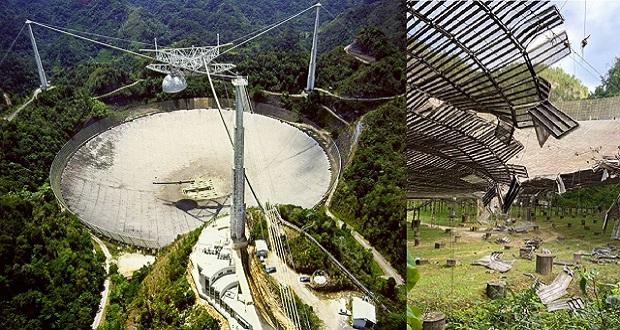 Slika Zbogom radioteleskopu Arecibo